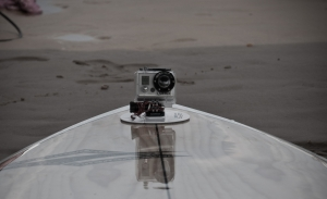Fitting a Gopro camera on a board
