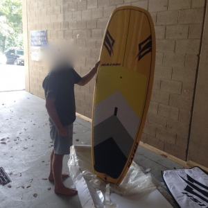 "Nieuwe Naish wave boards : ""Raptor"" reeks"
