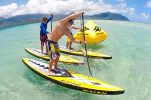 Naish ONE inflatable race SUP