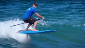 Stand Up Paddle FOIL Surfing in Hawaii