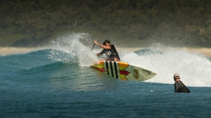 SUP Surfing: Good things happen in Three's