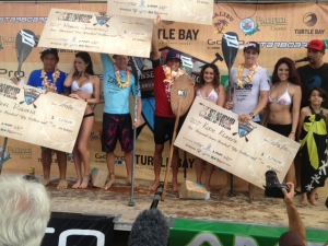 Sunset Beach Pro : Photos of the finals & Kai Lenny's win