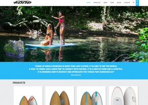 F-One SUP 2015 website